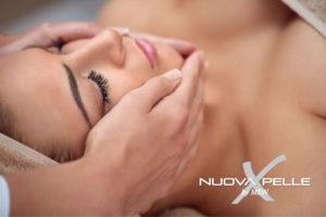 pulizia del viso con il Metodo Nuova Pelle nel Centro Matrix Nuove Forme a Padova