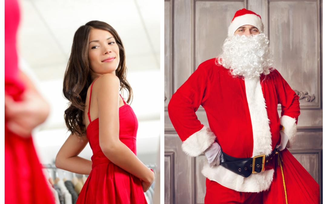 Non è per metterti ansia ma tra 14 martedì è Natale, e tu come ti vestirai per le feste? Così o così?