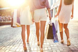 desiderio di fare shopping con Nuove Forme centri dimagrimento a padova