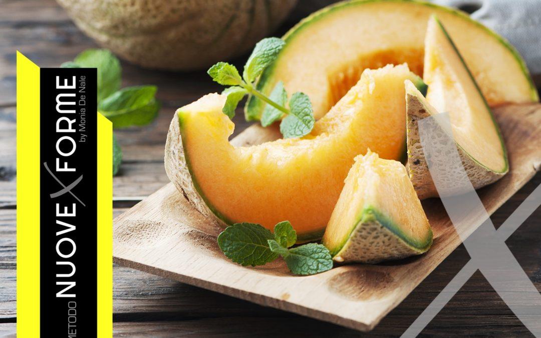 Il#melone, salute per la tua#bellezza, con#vitaminee sali minerali.